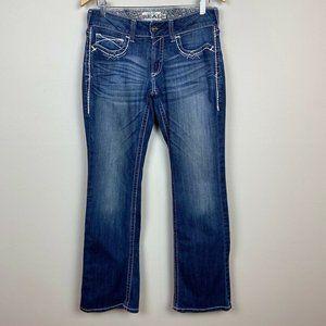 Ariat Real Denim 29 Boot Cut Jeans Medium Wash